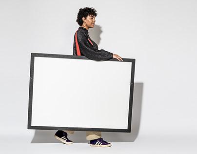"Whiteboard ""Flomo"""