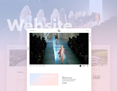 Paris Fashion Week - Website
