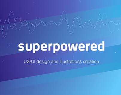 Superpowered - redesign B2B website