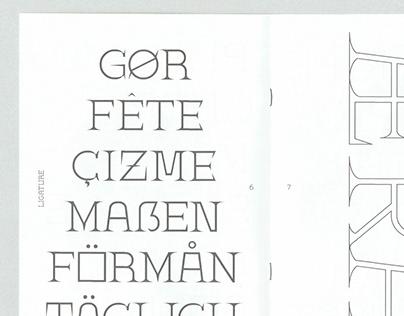 mx Eli Typeface