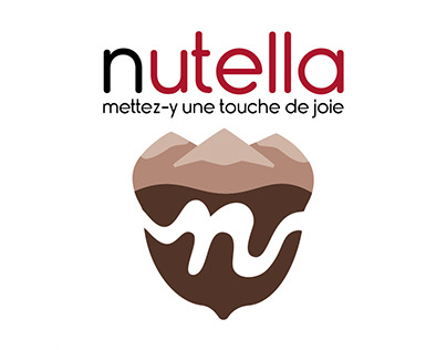 Rebranding identité visuelle - Nutella (Projet ficitif)