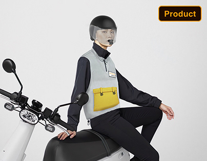 Daily-Deli Food Delivery Driver Safety Kit 安全外送組