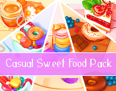 Casual Sweet Food Pack