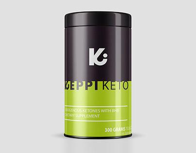 Packaging Design for Exogenous Ketones