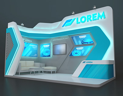 EXHIBITION STAND MZY 18 sqm