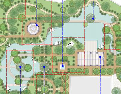 Luxury Villa Landscape design