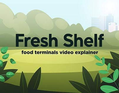 Fresh Shelf: food terminals video explainer