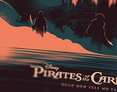 PIRATES OF THE CARIBBEAN for Disney/Poster Posse
