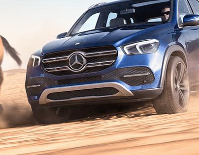 Mercedes-Benz GLE   Full CGI