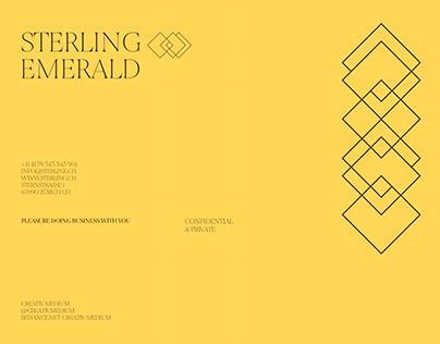 Luxury Branding - Sterling Emerald ™