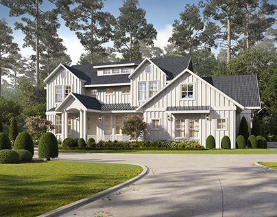 CGI | USA house | True