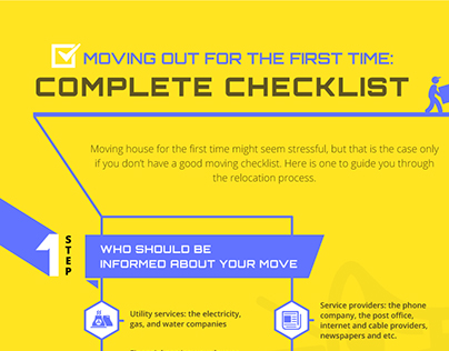 Moving Out for the First Time: Complete Checklist