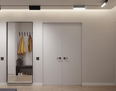 Budivelnykiv apartments interior design