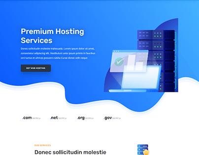 Hosting Company Website