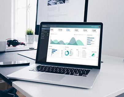 Admin dashboard UI for Angular app