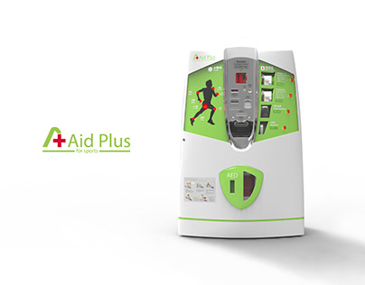Aid Plus - First aid vending machine