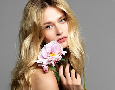 Model Justine Geneau Cover by Andrea Klarin