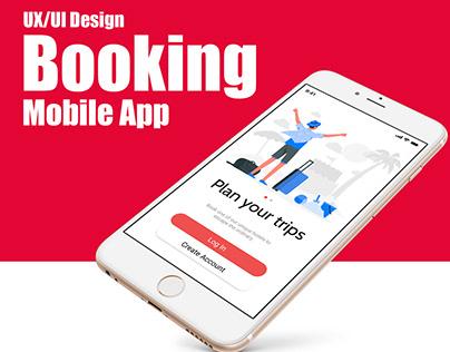 UX/UI design for Booking Trip