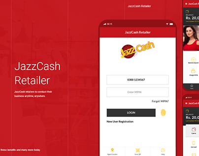 Jazz Cash Retailer App