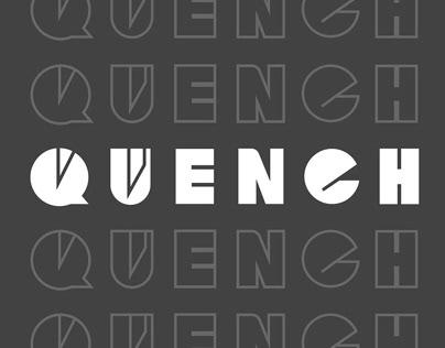 QUENCH - Brand Identity Design