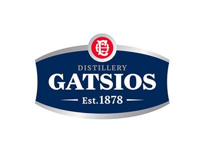 Gatsios Distillery Branding