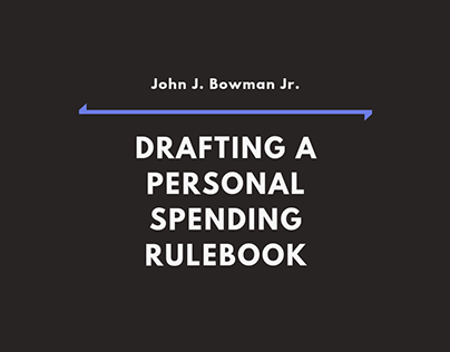 Drafting a Personal Spending Rulebook (Infographic)