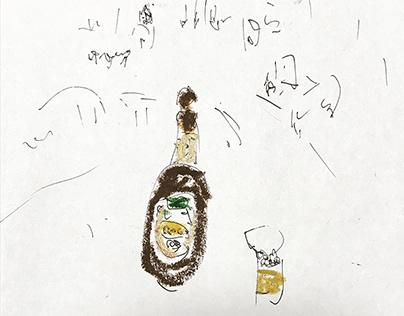 bottles / お酒の瓶