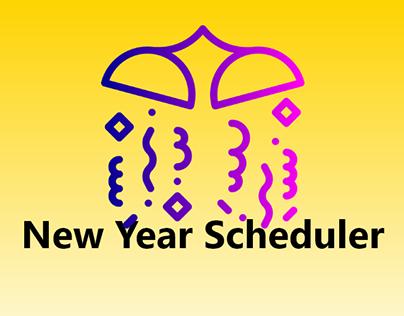 New year scheduler