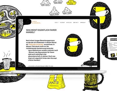 Editorial Web Illustrations
