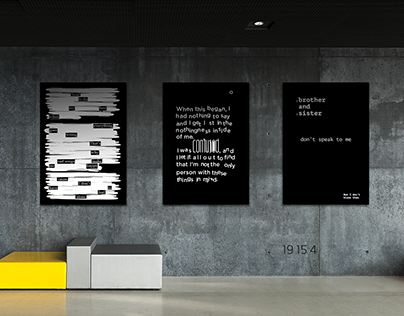 Music Meets Type – Poster Series