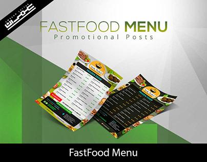 Fastfood Menu Design
