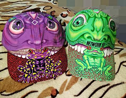 OG.Custom Hats (Fresh C-tin couple's Christmas Present)