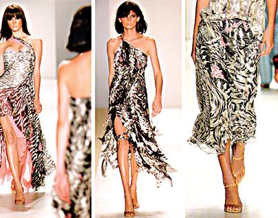 Pattern designed for Fashion Brand