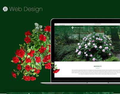 Garden Website Landing page - WebDesign UI/UX