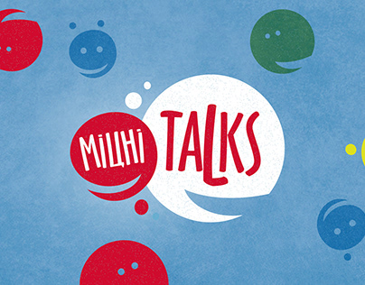 "Rastishka ""Міцні Talks"". Logo&ID"