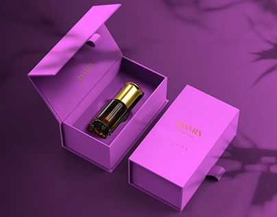 Jasmin Perfume packaging