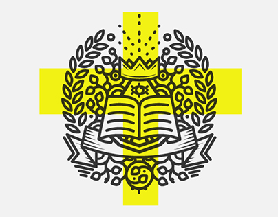 Heraldic symbol for University Marketing Department