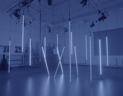LED Forest II (Lichtcampus)