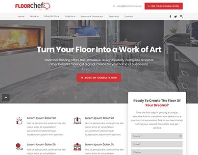Website Design - Floor Chef