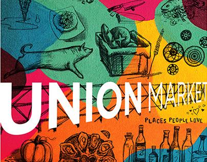 Union Market DC Poster