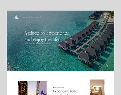 BlueHill - Hotels Website
