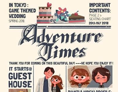 """The Adventures of Hideki & Rianti"" Wedding Guidebook"