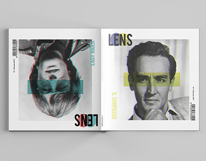 ART DIRECTION // Lens, visual magazine