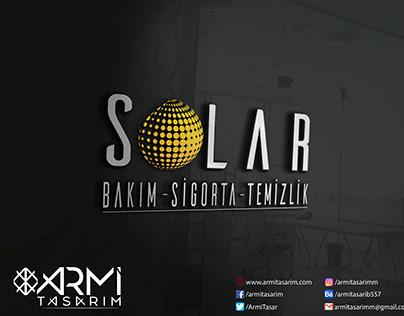 Solar Bakım İçin Tasarladığımız Logo Tasarımı