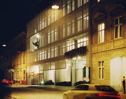 Adaptive reuse of the Soviet epoch building in Lviv 2.0