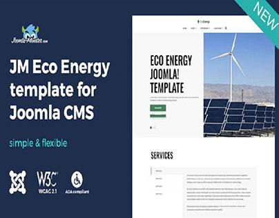 Meet eco energy Joomla template