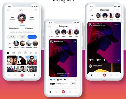 Instagram UI Redesign
