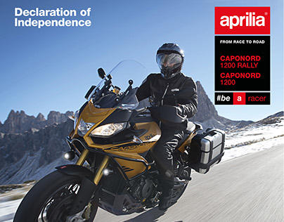 Aprilia Caponord brochure and video