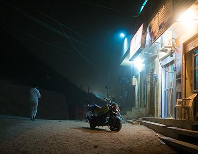 India at Night