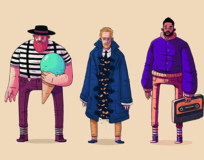 Socks - Character Design